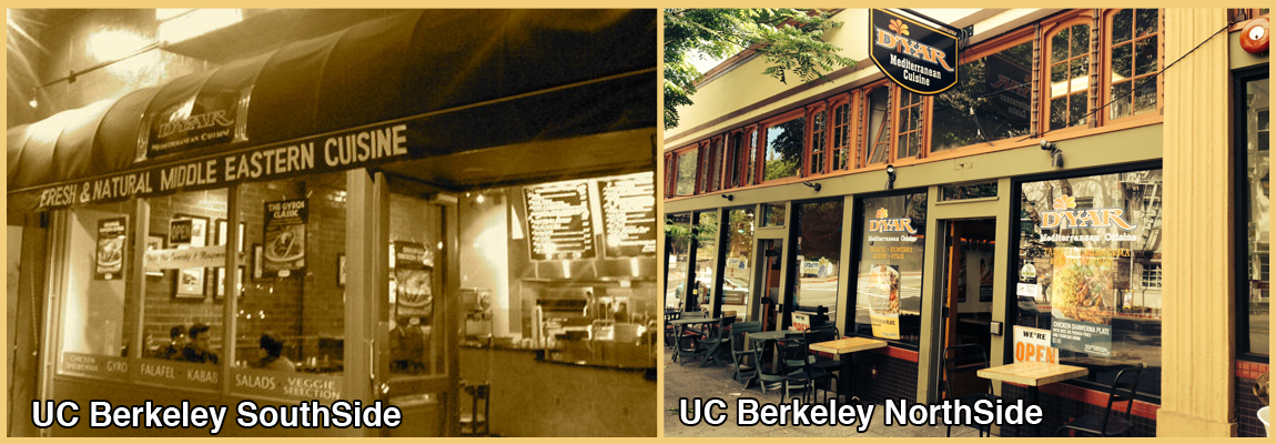 <B>UC Berkeley Northside & Southside</B>